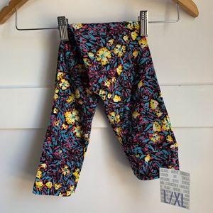 LULAROE | Kids Leggings L/XL Floral Confetti